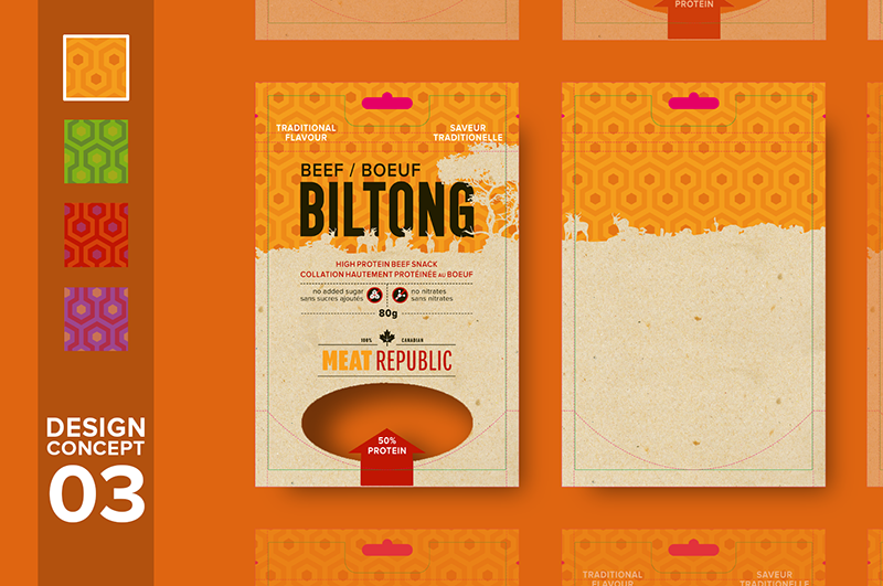 postoasties packaging - meat republic concept 3