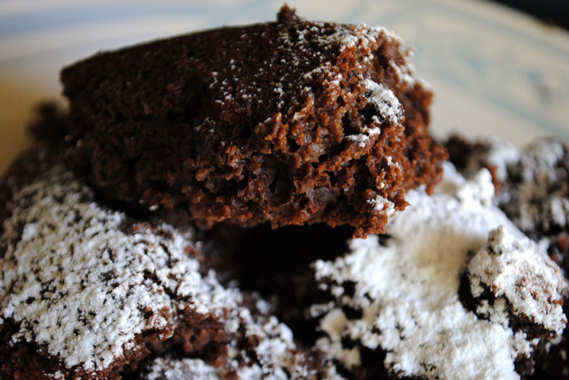The most rich & dark chocolate cake in the world