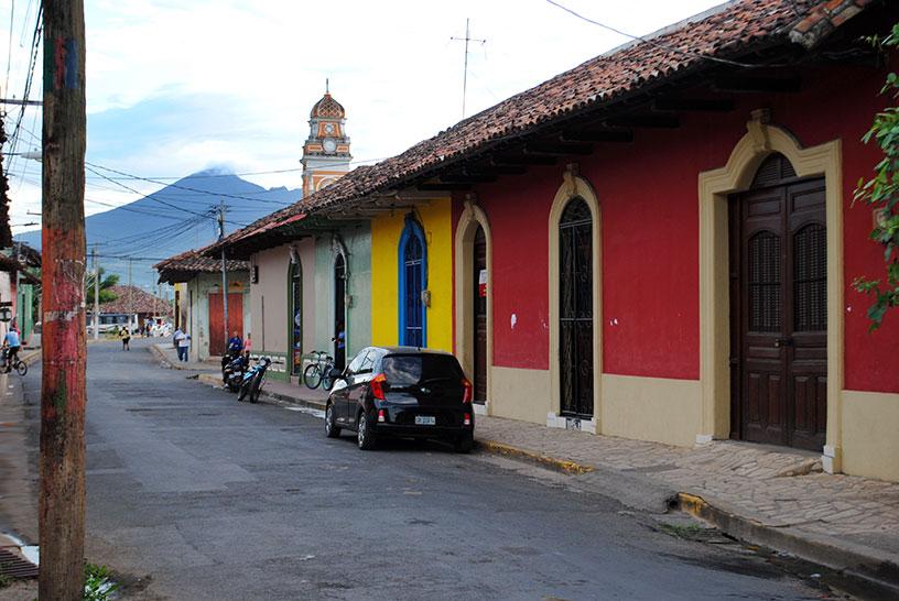 colourful buildings, Granada Nicarague