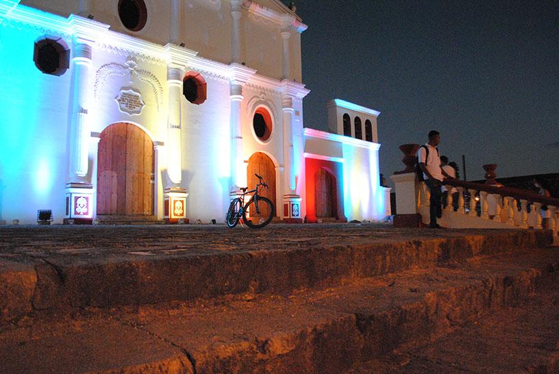 Granada Nicaragua by night
