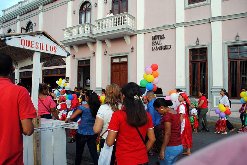 street celebration, granada, nicaragua