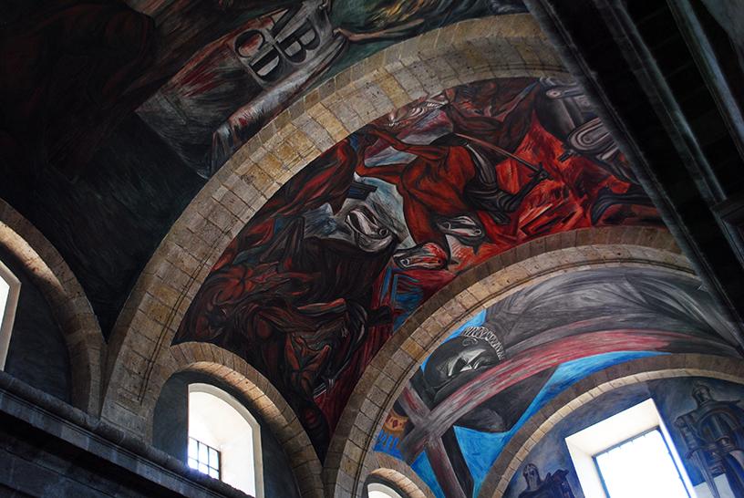 Palacio de Gobierno del Estado de Jalisco, with famous murals by José Clemente Orozco