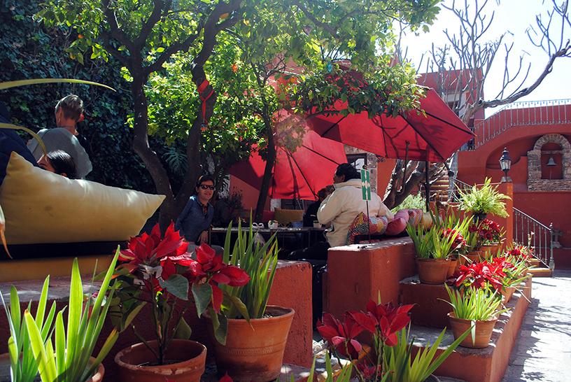 Breakfast in San Miguel de Allende