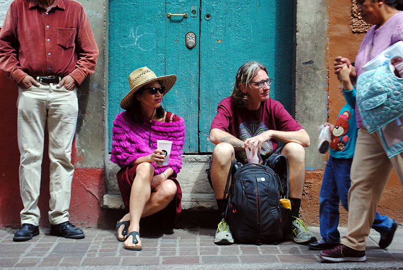 Weary travellers, Guanajuato