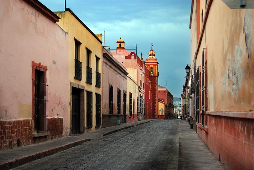 Querétaro historical district